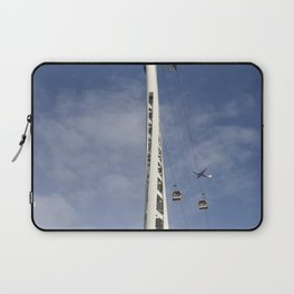 Emirates Cable Car And Flybe Aircraft Laptop Sleeve