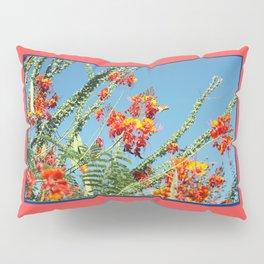 Ocotillo Blooms Pillow Sham