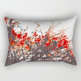 """Tree Blossoms"" Rectangular Pillow"