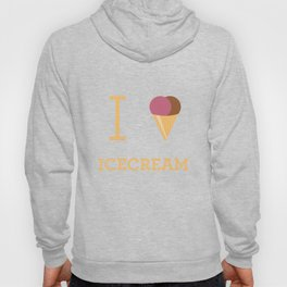 I heart Icecream Hoody