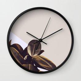 Minimal Nature Style Wall Clock
