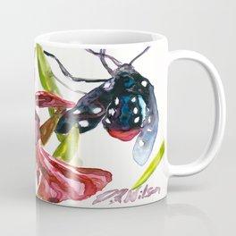 Oleander Wasp Moth Study Coffee Mug
