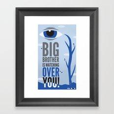 Big Brother. Framed Art Print