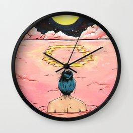 O for Ocean | Alphabet Zine Wall Clock