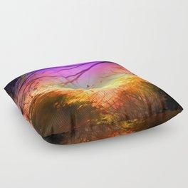 Autumn Burst Floor Pillow