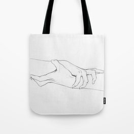 Untitled Hands No. 3 Tote Bag