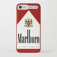 cigarettes iPhone & iPod Cases featuring cigarettes by Azrai Danial