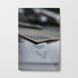 Aces High Metal Print