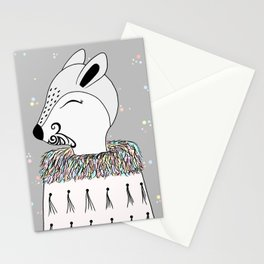 Miss Hata (in colours) Stationery Cards