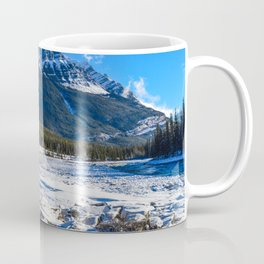 Mount Kerkeslin in Jasper National Park, Alberta Coffee Mug