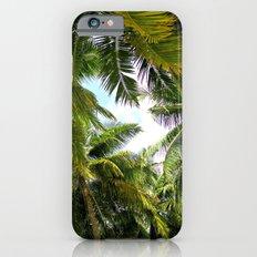 Maldivian palm iPhone 6s Slim Case