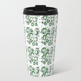 Green Bubbles Travel Mug