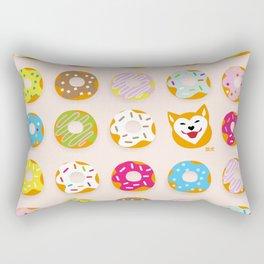 Donut Inu Rectangular Pillow