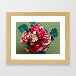 Artificial Bouquet Framed Art Print