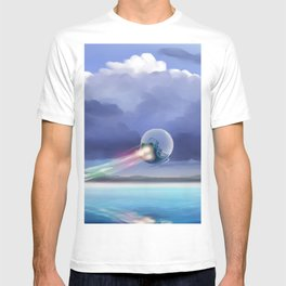 Cruising over the beach T-shirt