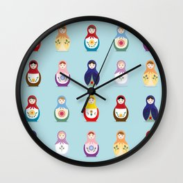 MATRYOSHKAS SERIES Wall Clock