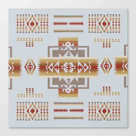 American Native Pattern No. 11 Canvas Print