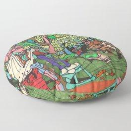 The Vineyard Floor Pillow
