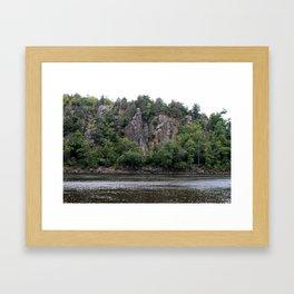 River Valley Floor Framed Art Print