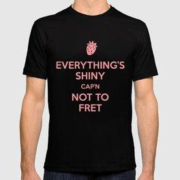 Everything's Shiny Cap'n! - Kaylee T-shirt