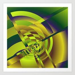 geometric pattern -5- Kunstdrucke