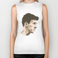 messi Biker Tanks featuring Messi by The World Cup Draw