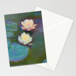Monet - Nympheas,1897 Stationery Cards