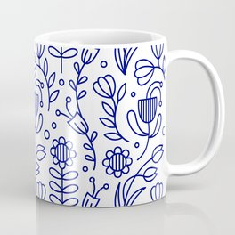 Flower medallion Coffee Mug