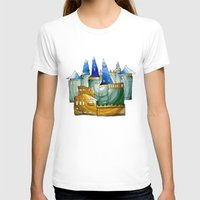 castle T-shirts featuring Castle by Isdsfsf