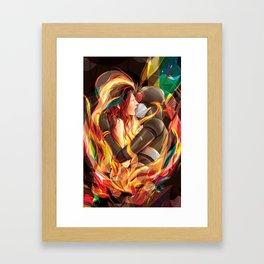 Secret Admirer Framed Art Print