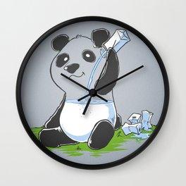 Panda in my FILLings Wall Clock