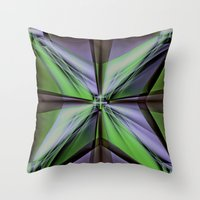 ornate Throw Pillows featuring Ornate by Sartoris ART