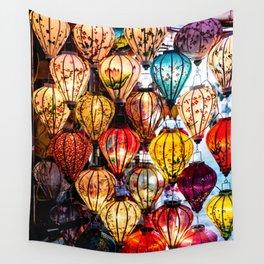 Lanterns of Hoi An, Vietnam Wall Tapestry