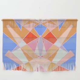 Flat Geometric no.35 Shapes and Layers Wall Hanging