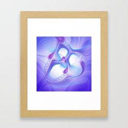 I'm feeling blue Framed Art Print