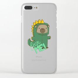 fear me! Clear iPhone Case