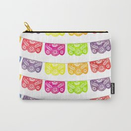 Colorful Papel Picado Carry-All Pouch