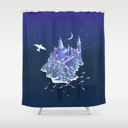 Hogwarts series (year 1: the Philosopher's Stone) Shower Curtain