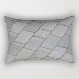 TEXTURES -- Pavingstone Pattern Rectangular Pillow
