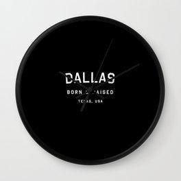 Dallas - TX, USA Wall Clock