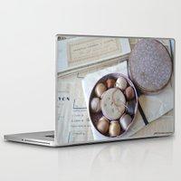 sewing Laptop & iPad Skins featuring Vintage Sewing by KarenHarveyCox