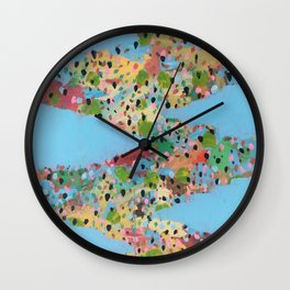 Switchback Wall Clock