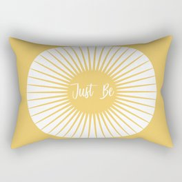JUST BE YELLOW ENERGY Rectangular Pillow
