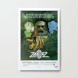 Zardoz (1974) Poster Metal Print