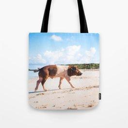 Dog by Antonio Scantlebury Tote Bag