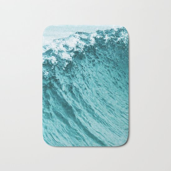 Ocean || #society6 #decor #buyart Bath Mat