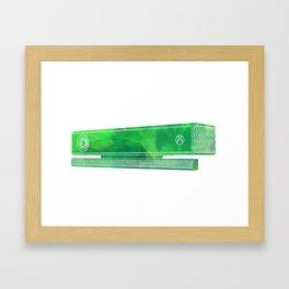 Body tracking sensor Framed Art Print