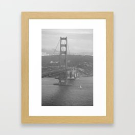 Golden Gate Bridge, San Francisco Framed Art Print