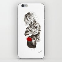 military iPhone & iPod Skins featuring Military Jacket by MASALEVICH