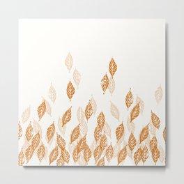 Falling Leaves - by Kara Peters Metal Print